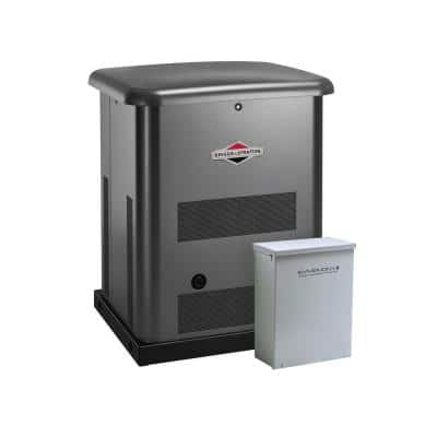 10,000-Watt Automatic Air Cooled Standby Generator with 100 Amp 16-Circuit Transfer Switch