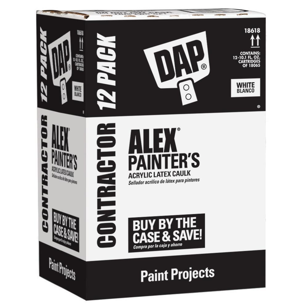 Alex Painter's 10.1 oz. All-Purpose Acrylic Latex Caulk (12-Pack)