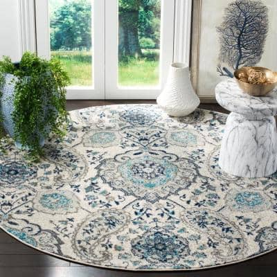 Round Area Rugs The Home Depot, Small Round Entryway Rugs