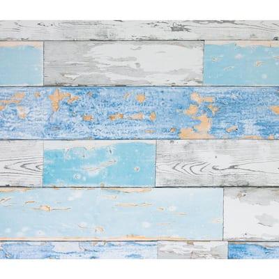 Scrapwood Wall Adhesive Film (Set of 2)