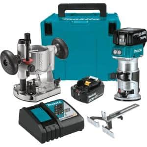 5.0 Ah 18-Volt LXT Lithium-Ion Brushless Cordless Compact Router Kit