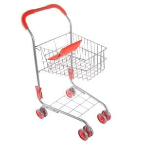 Pretend Play Grocery Shopping Cart