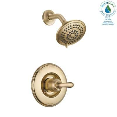Linden 1-Handle 1-Spray Shower Only Faucet Trim Kit in Champagne Bronze (Valve Not Included)