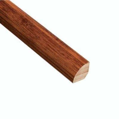 Horizontal Honey 3/4 in. Thick x 3/4 in. Wide x 94 in. Length Bamboo Quarter Round Molding