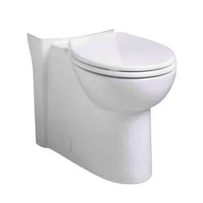 Cadet 3 FloWise Concealed Trapway Tall Height 1.28 GPF Round Toilet Bowl Only in White
