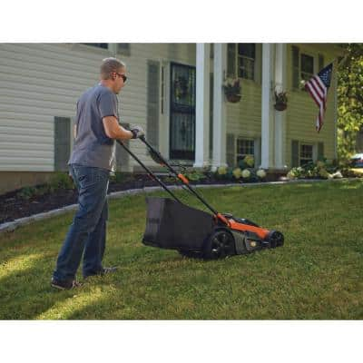 20 in. 40V MAX Lithium-Ion Cordless Walk Behind Push Lawn Mower with (2) 2.5Ah Batteries and Charger Included