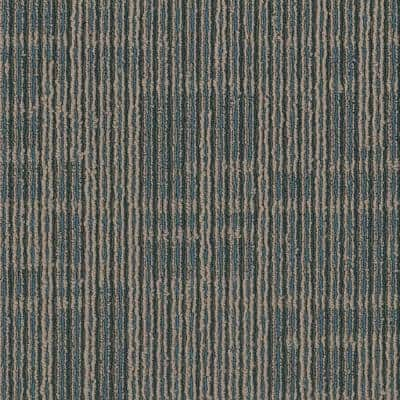 Zander Racket Loop 24 in. x 24 in. Carpet Tile (18 Tiles/Case)