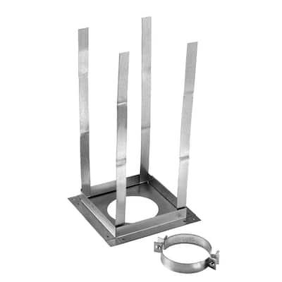 4 in. Dia Aluminum Firestop Support