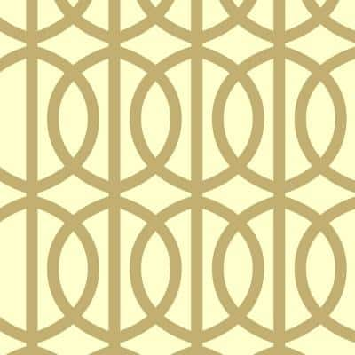 Trousdale Wall Painting Stencil - 19.5 in. x 19.5 in. Stencil Sheet