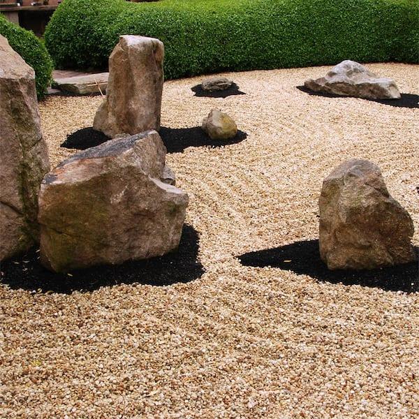 White Ice Bulk Landscape Rock, White Garden Rocks Home Depot