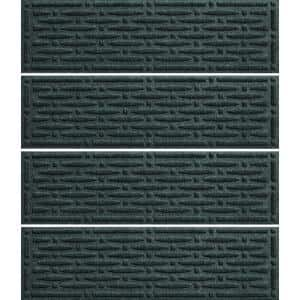 Mesh 8.5 in. x 30 in. Stair Treads (Set of 4) Evergreen