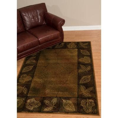Sephora Gold 8 ft. x 11 ft. Area Rug