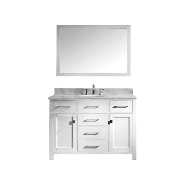 Virtu Usa Ine 49 In W Bath Vanity, Virtu Bathroom Vanities