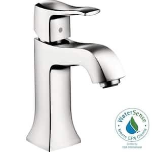 Metris C Single Handle Single Hole Bathroom Faucet in Chrome