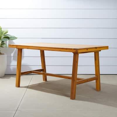 Miami Rectangular Wood Outdoor Dining Table