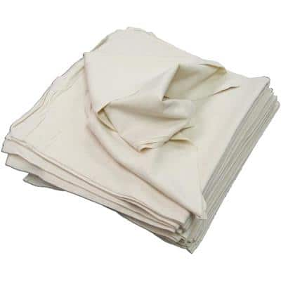 Natural 28 in. x 29 in. Unbleached Beige Flour Sack Towel (50-Pack)