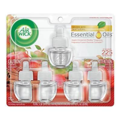 Plug-In 0.67 oz. Apple Cinnamon Scented Oil Refills (5-Pack)