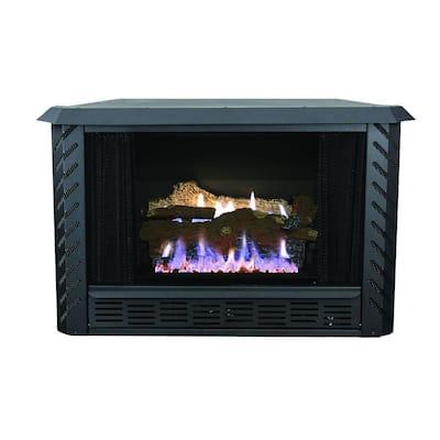34,000 BTU Vent Free Firebox Natural Gas Stove