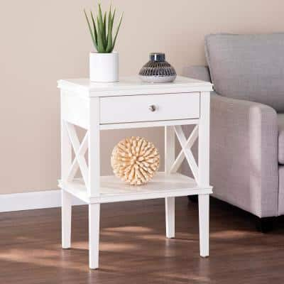 Tall Above 25 In End Tables Accent The Home Depot - What Is A Tall Skinny Table Called