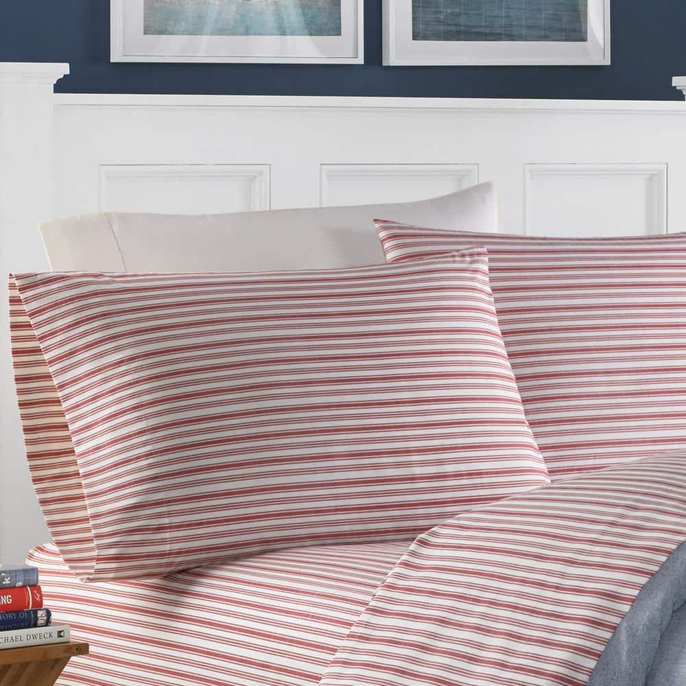 Twin Nautica Preppy Stripe Kids Sheet Set Multi Stripe Primary Colors