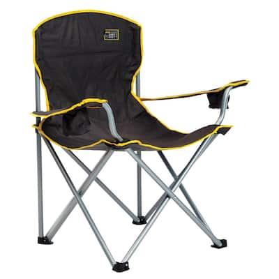 Black Heavy-Duty Chair