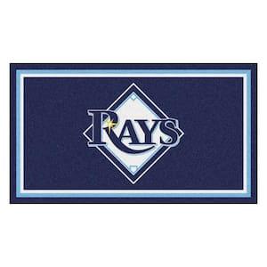 MLB - Tampa Bay Rays 3 ft. x 5 ft. Ultra Plush Area Rug