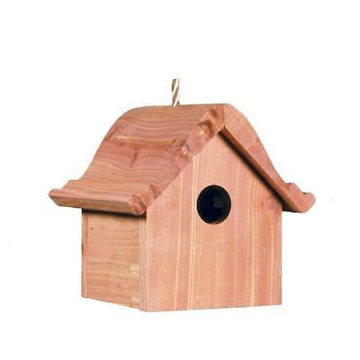 Wren Wood Bird House