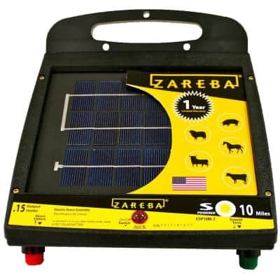 10 Mile Low Impedance Solar Fencer