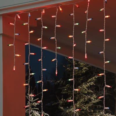 300 Light Multi-Color Icicle High Density Plus Heavy Duty String Light