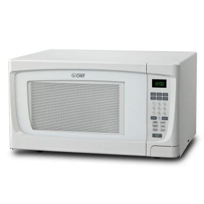1.6 cu. ft. Countertop Microwave White