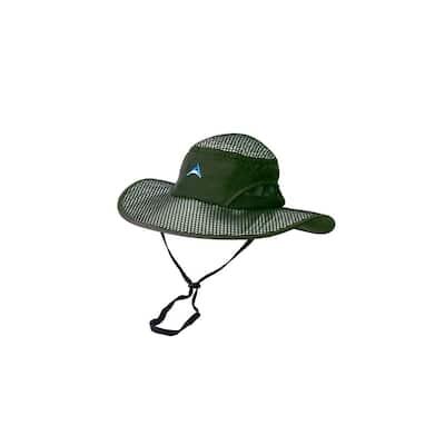 Olive Green River Hat