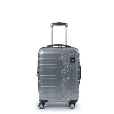 Disney Pixar Toy Story 4 Woody 22 in. Silver Spinner Suitcase