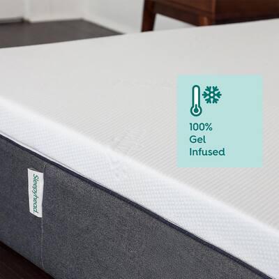 Sleepyhead 3-inch Twin XL Gel-Infused Memory Foam Mattress Topper