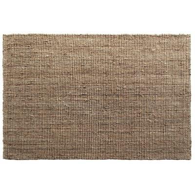 Urban Silver Silver 5' x 7' Handloom Woven Area Rug