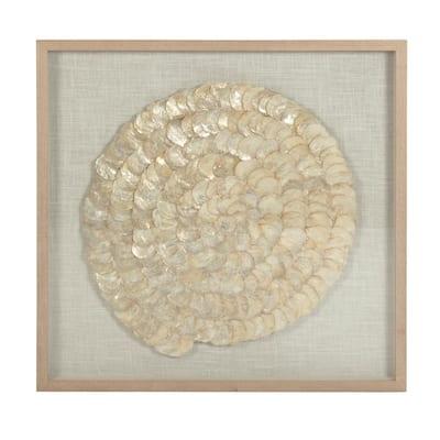 Abstract Shell Wall Art