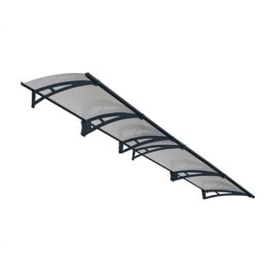 Aquila 4100 13 ft. 5 in. Solar Gray Door Canopy Awning