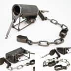 Dog-Proof Raccoon Coon Trap GRIZ Enclosed Design Staking System