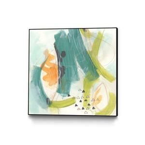 30 in. x 30 in. ''Skipping Stones II'' by June Erica Vess Framed Wall Art