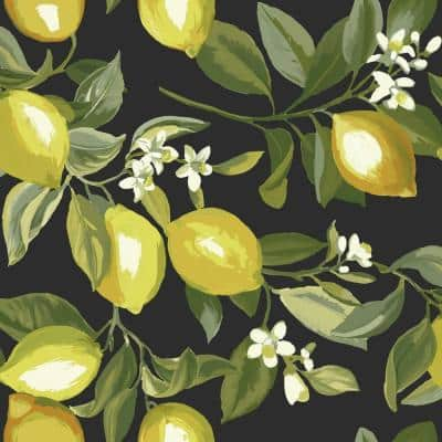 Lemon Zest Peel and Stick Wallpaper (Covers 28.29 sq. ft.)
