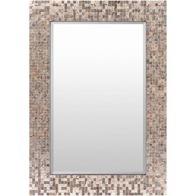 Medium Rectangle Copper Classic Mirror (28 in. H x 40 in. W)