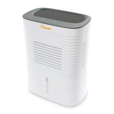 4 Pint Compact Dehumidifier with 2 Settings for Small to Medium Rooms up to 300 sq. ft.