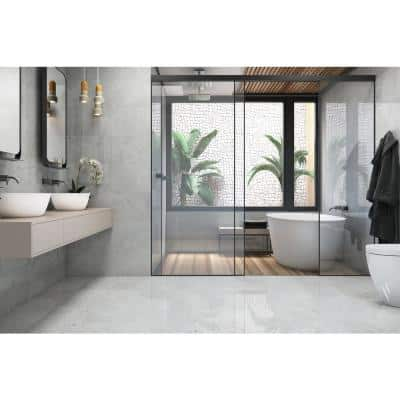 Delray White 12 in. x 12 in. Ceramic Floor and Wall Tile (16.15 sq. ft. / case)