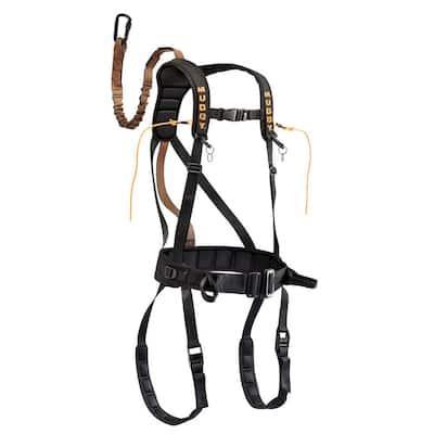 Safeguard Harness Black X-Large