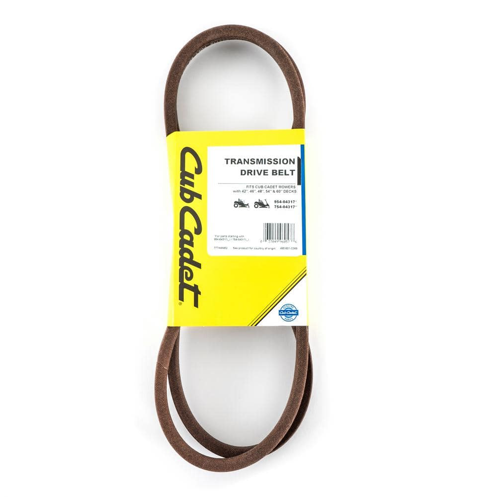 Cub Cadet Original Equipment Transmission Drive Belt for Select Zero Turn Lawn Mowers OE# 954-04317