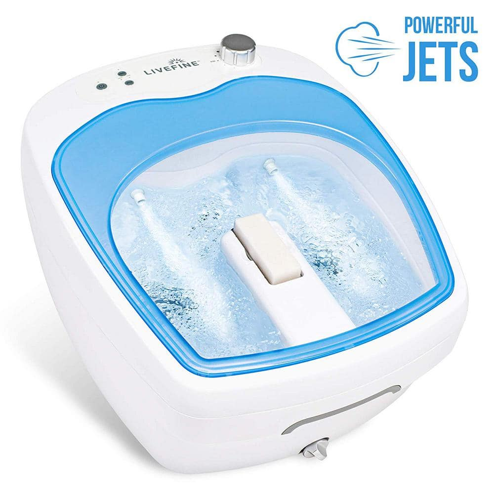 1 Person Portable Spa Adjustable Speed Aqua Air Jets Foot Spa Lfftspajet The Home Depot