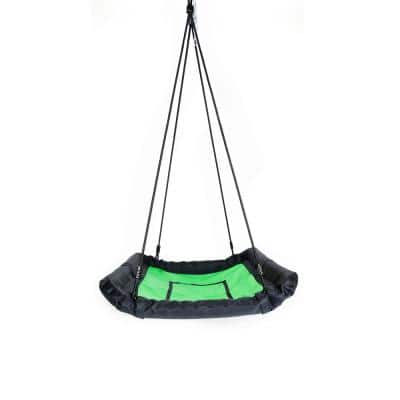 Green Kids Platform Swing