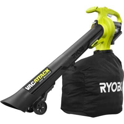 40V Vac Attack Cordless Battery Leaf Vacuum/Mulcher (Tool Only)