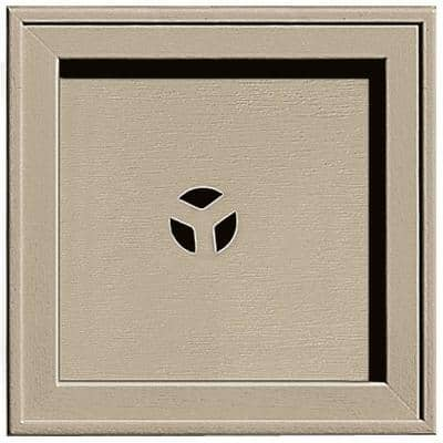 7.75 in. x 7.75 in. #085 Clay Recessed Square Universal Mounting Block