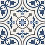 Zenzibar 8 in. x 8 in. Matte Porcelain Floor and Wall Tile (5.16 sq. ft./Case)