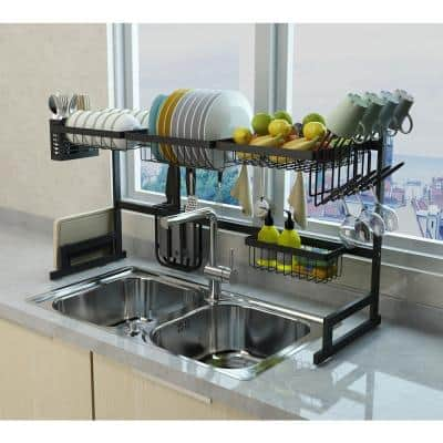 Dish Racks Kitchen The Home Depot